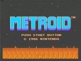 Metroid 2 Title Screen