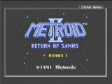 Metroid 2 Title Screen