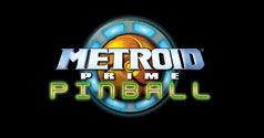 Metroid Pinball Title Screen