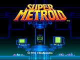 Super Metroid Title Screen
